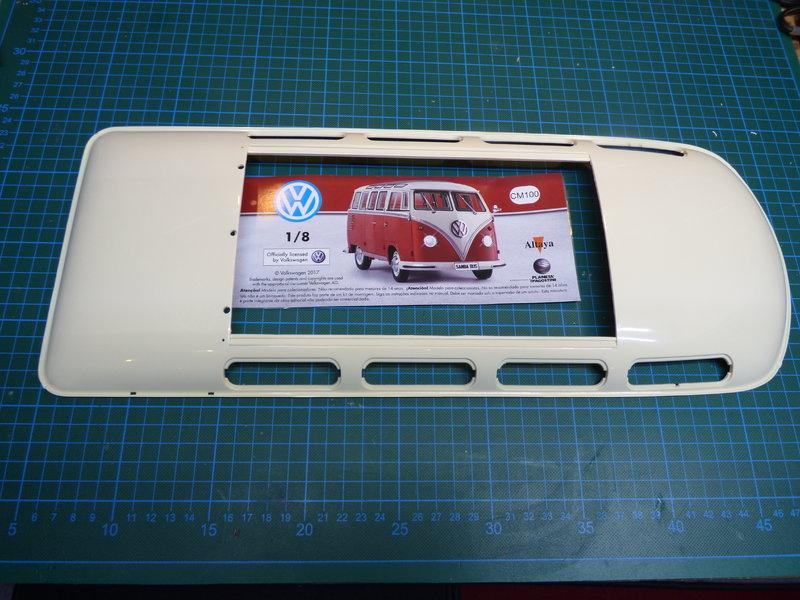 VW T1 Samba 1:8 Sammelbausatz DeAgostini ge. von rmo554 - Seite 2 37416275iw