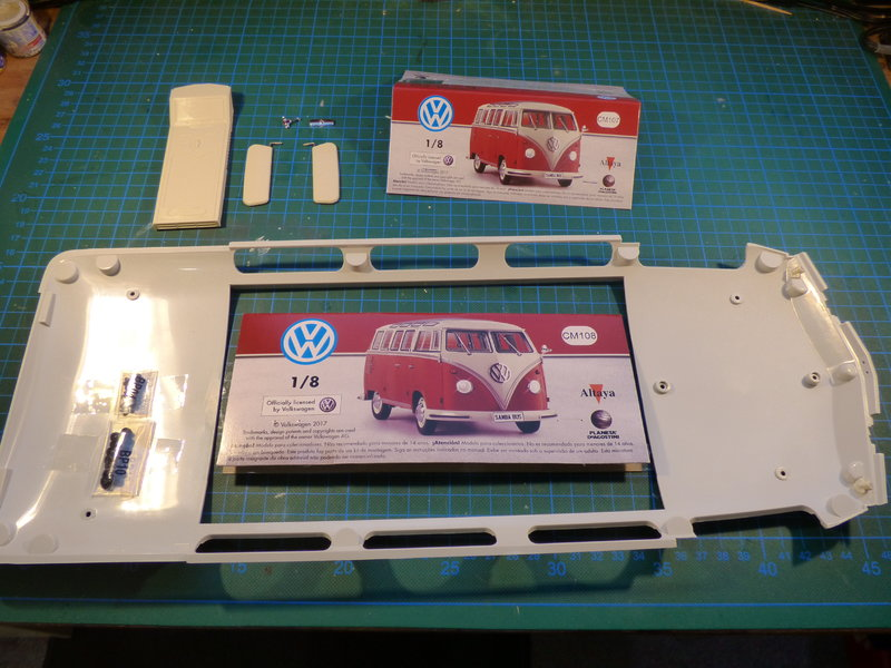 VW T1 Samba 1:8 Sammelbausatz DeAgostini ge. von rmo554 - Seite 2 37434669ki