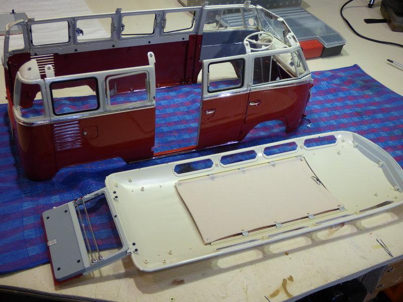 VW T1 Samba 1:8 Sammelbausatz DeAgostini ge. von rmo554 - Seite 2 37434674ae