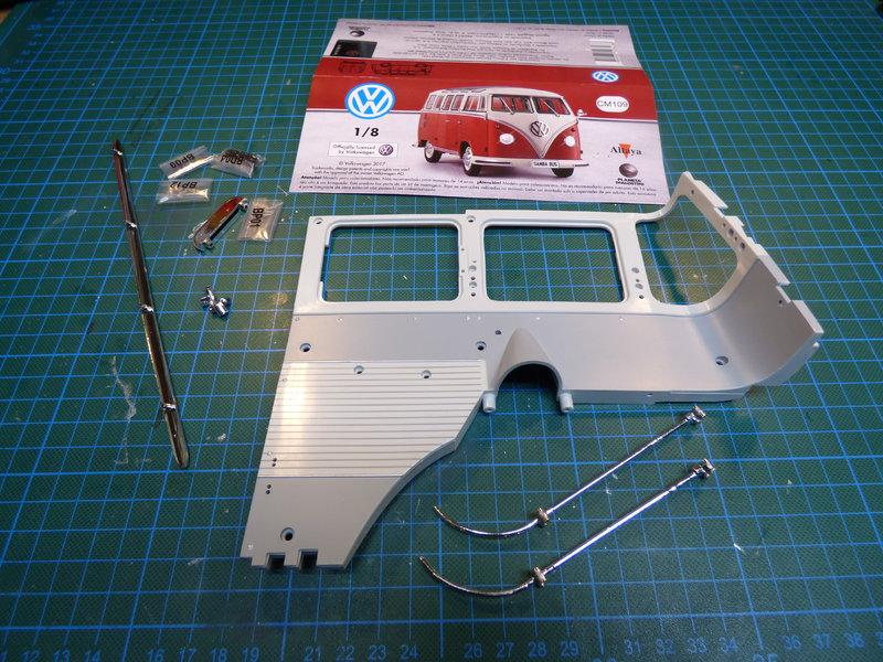 VW T1 Samba 1:8 Sammelbausatz DeAgostini ge. von rmo554 - Seite 2 37435987zf