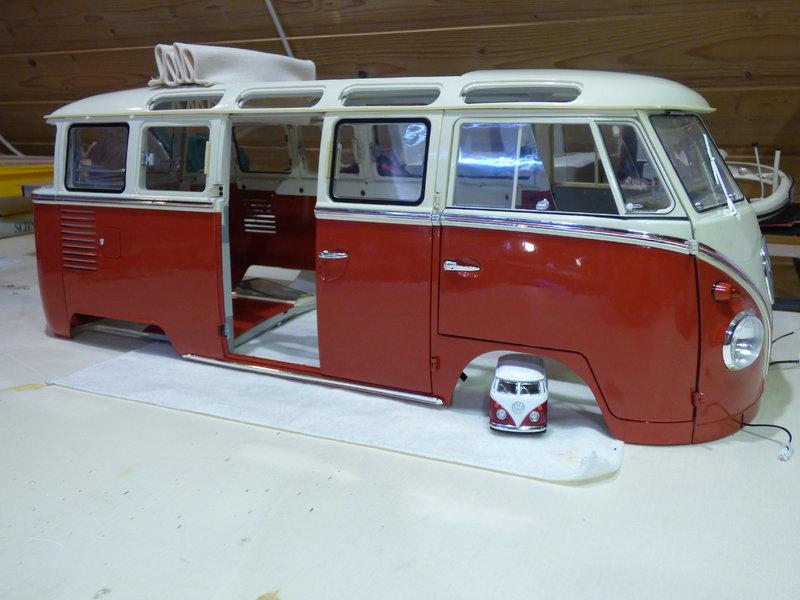 VW T1 Samba 1:8 Sammelbausatz DeAgostini ge. von rmo554 - Seite 2 37435992xf