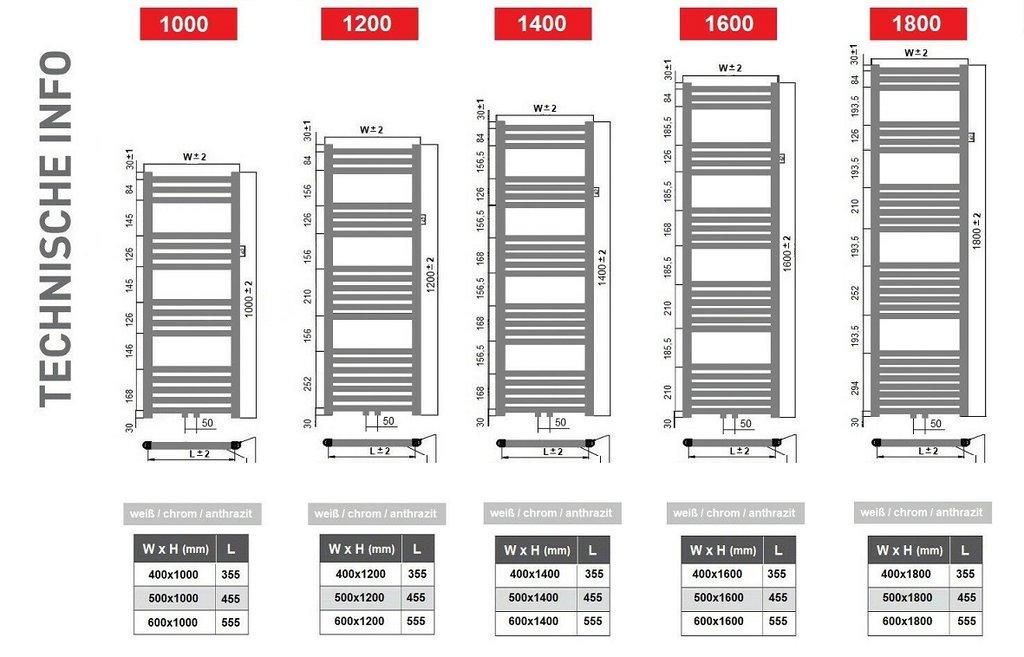 shopname badheizk rper chrom gerade h 1000 mm x b 500 mm. Black Bedroom Furniture Sets. Home Design Ideas