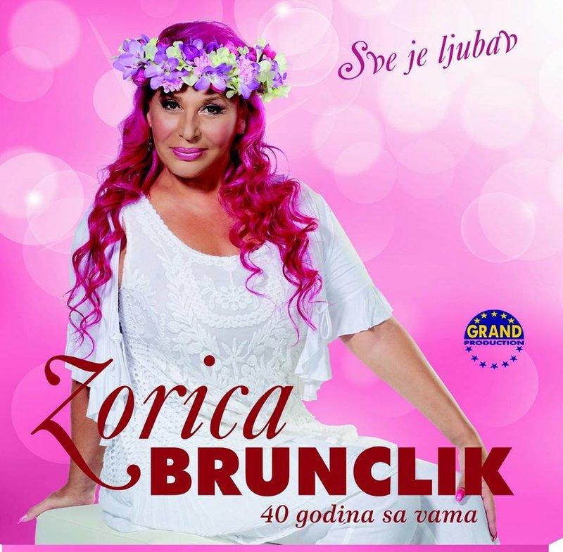 Zorica Brunclik 2014 - Sve Je Ljubav - 40 Godina Sa Vama 37466664ej