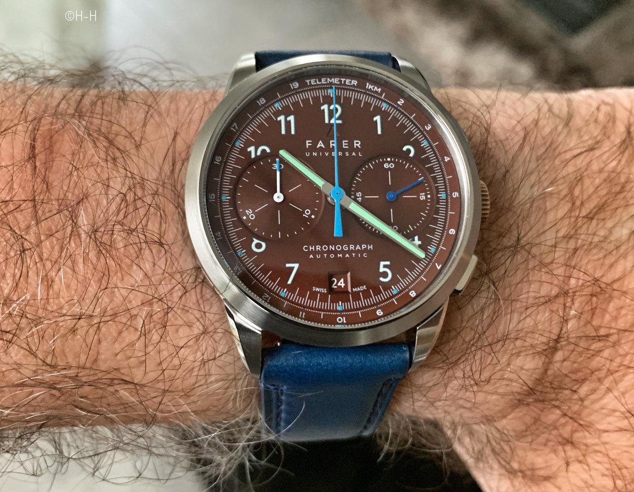 Neue Uhren : Farer Cobb, Eldridge und Segrave Chronos | Seite 3