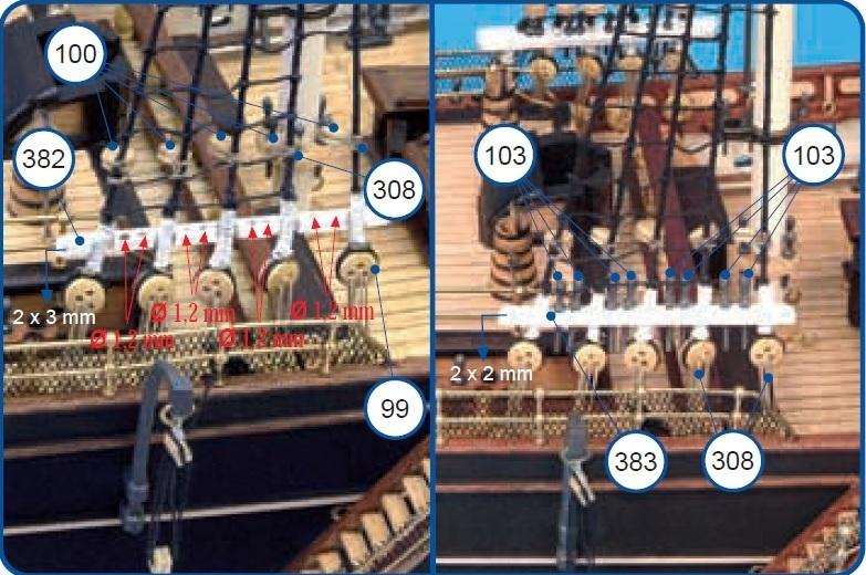 Cutty Sark von DelPrado nach Plänen von Artesania gebaut von rmo555 - Seite 3 37586454te