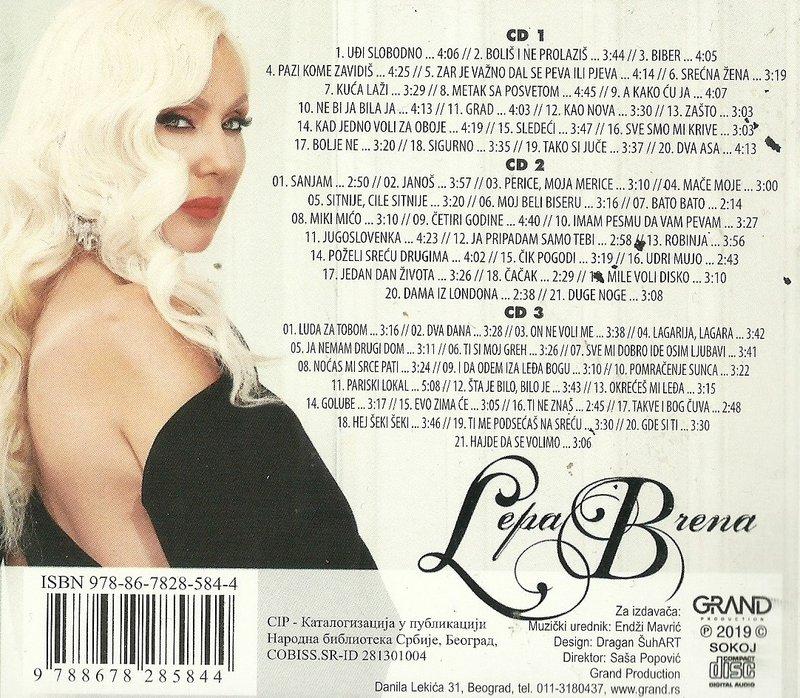 Lepa Brena - 2019 - Best of 37586776ny