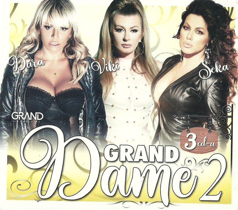 2019 - Grand Dame 2 2019 - Dara, Viki, Seka 3CD 37586873um