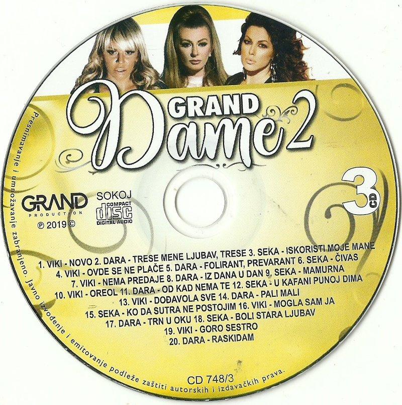 2019 - Grand Dame 2 2019 - Dara, Viki, Seka 3CD 37586879ve