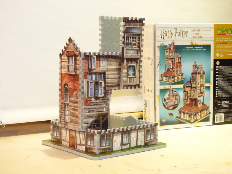 Fuchsbau 3D Puzzle 37636752up