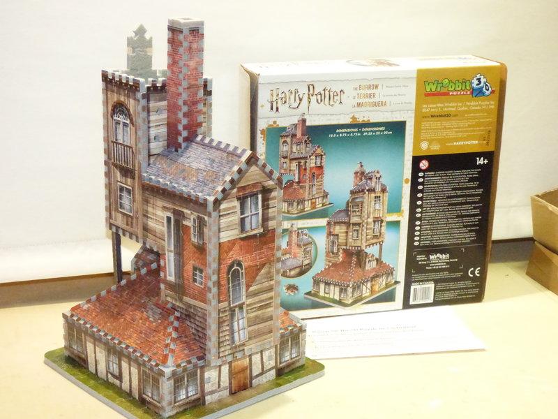Fuchsbau 3D Puzzle 37649155pd