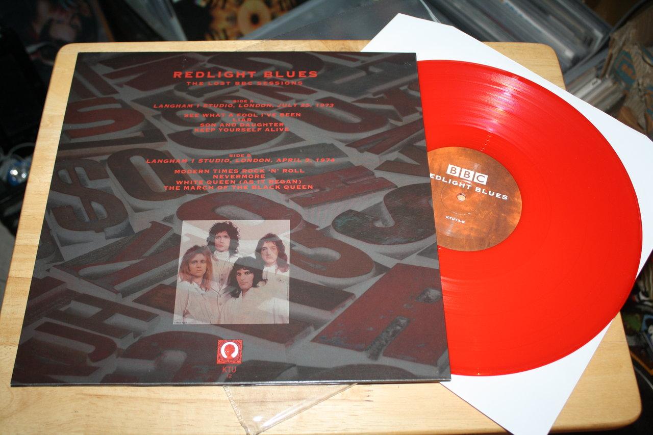 Queen Redlight Blues Rare Ktu Glam Hard Rock Bbc Color