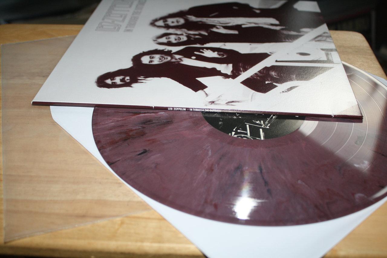 Led Zeppelin In Through The Blooper Top Ue Hard Rock Color