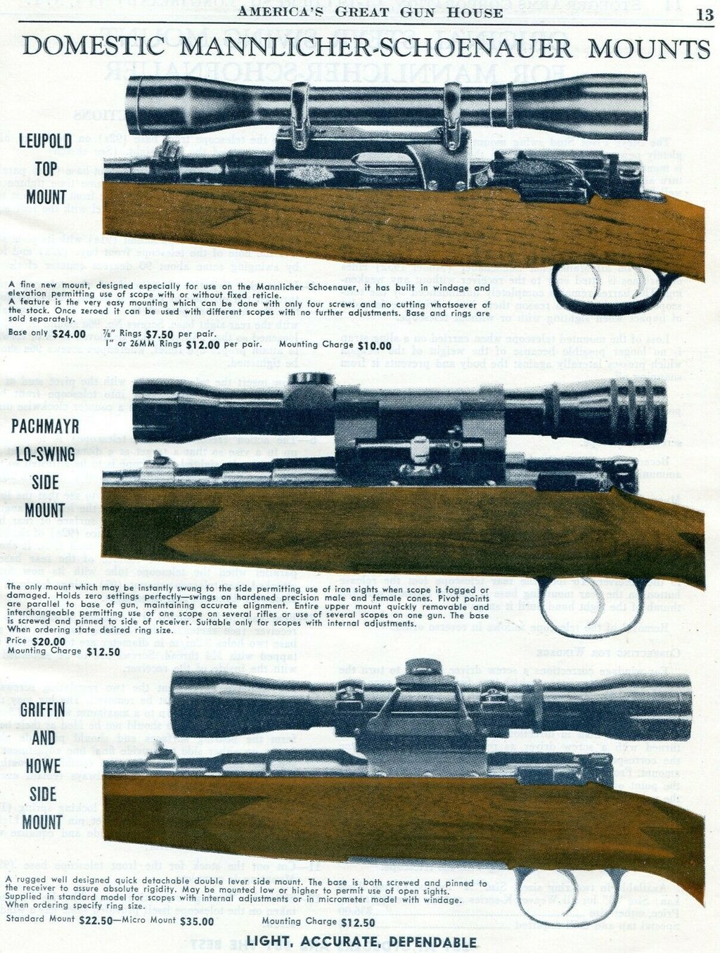 (.400 member) 05/02/20 12:57 PM Re: Mannlicher-Schoenauer-carbine--one of  the first mtn rifles?? Quote: Beautiful examples - one with my favourite  Pachmayr Lo-Swing. . Contact Us NitroExpress.com Powered by UBB.threads™  6.5.5 Home | Ezine ...