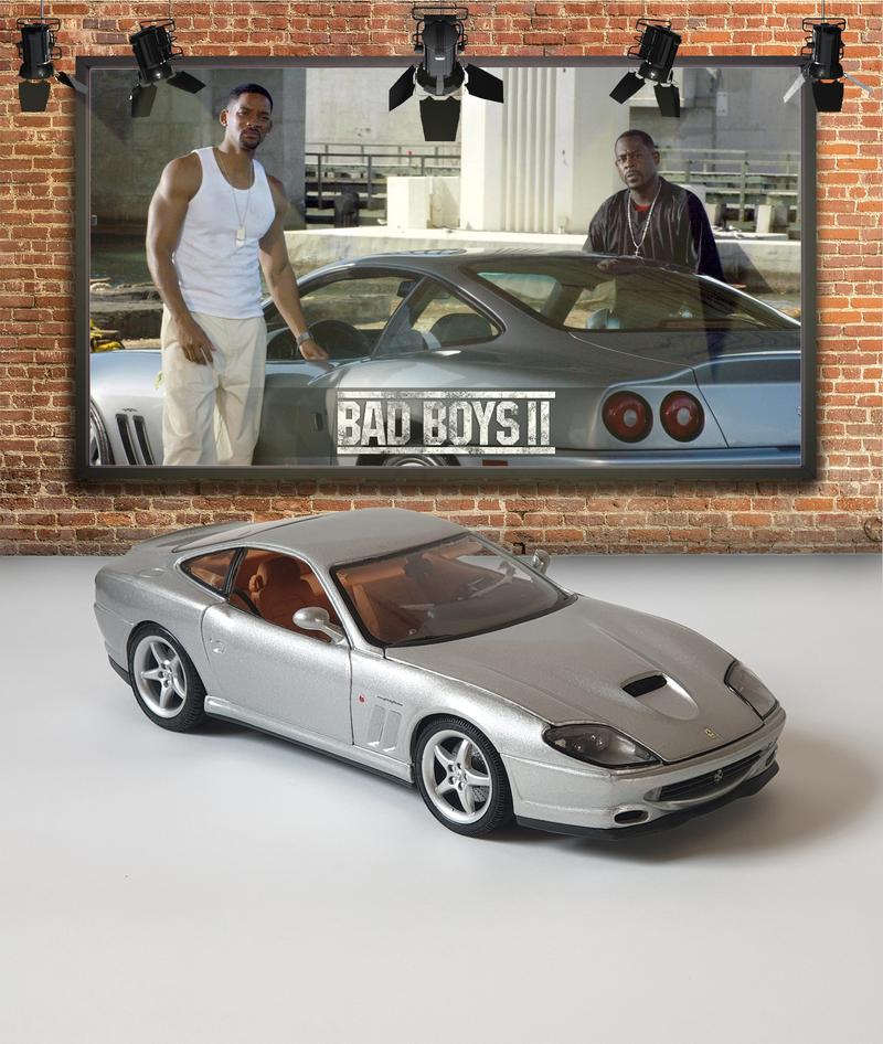 Ferrari 550 Maranello Bad Boys Ii Originale Modelle Modelcarforum