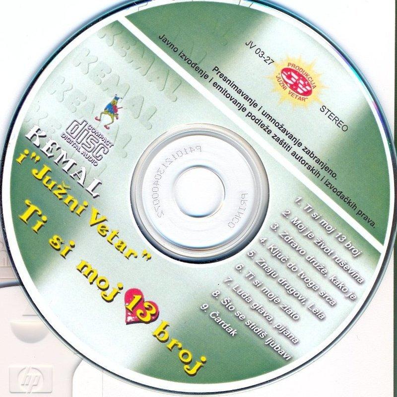 Kemal Malovcic - 1991 - Ti Si Moj 13 Broj  37869306wb