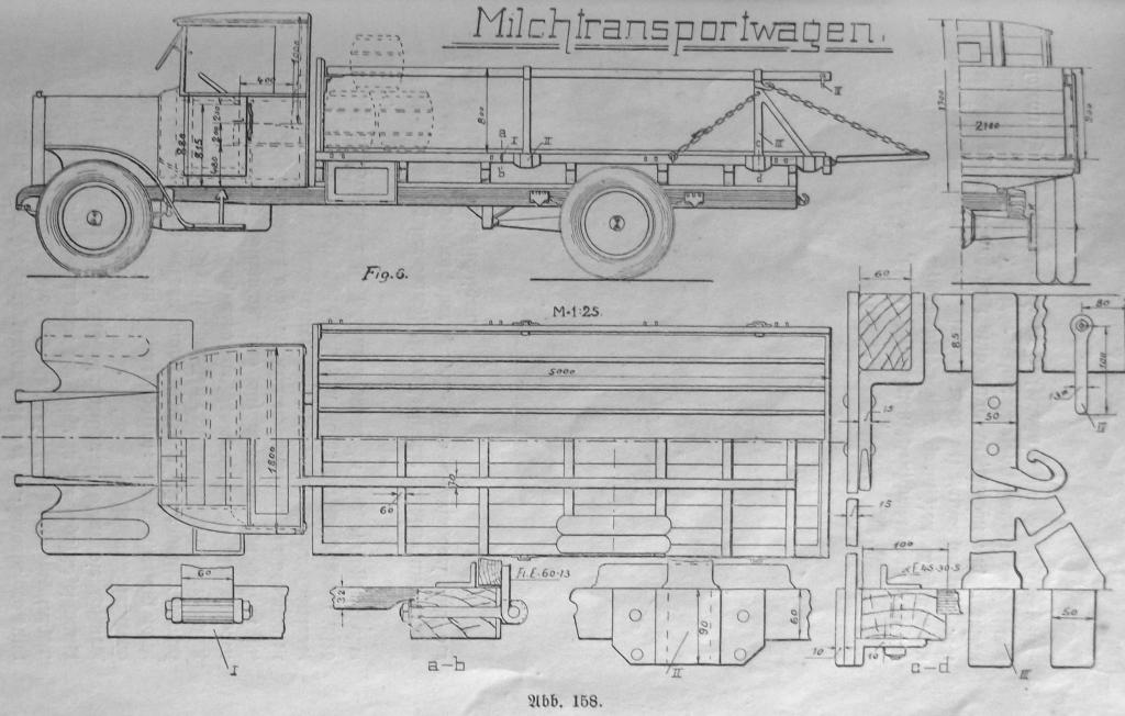 Karosseriebau mit tragendem Holz-Gerüst 37882725ii