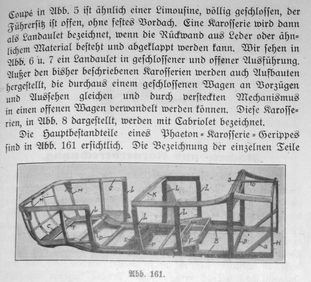 Karosseriebau mit tragendem Holz-Gerüst 37931825yt