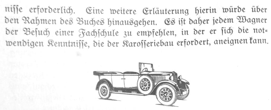Karosseriebau mit tragendem Holz-Gerüst 37931829oh