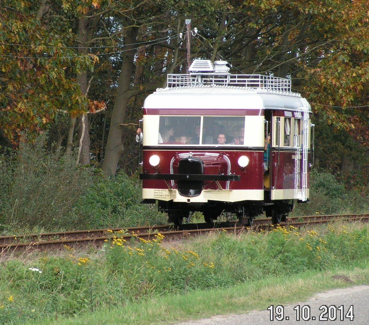 """Projekt """"Schweineschnäuzchen"""" , ein Wismarer Schienenbus in N 38107803ev"""