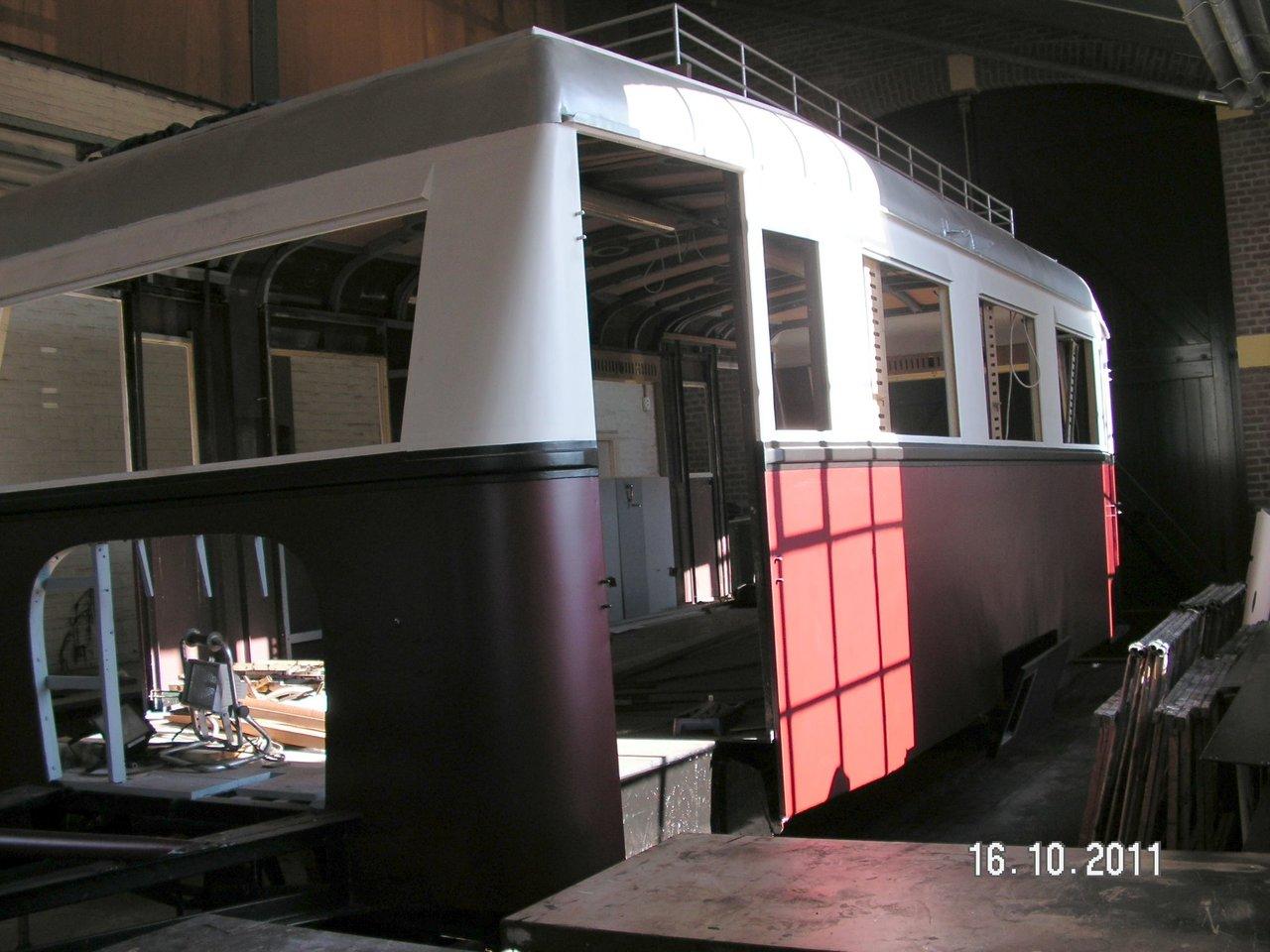 Diorama Bahnhof Asendorf mit T41 in H0e / 1/87 Schmalspur 38110015qn