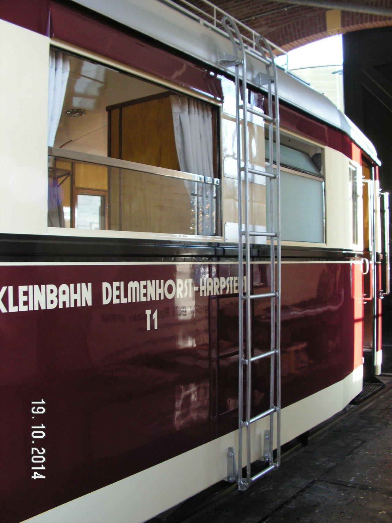 Diorama Bahnhof Asendorf mit T41 in H0e / 1/87 Schmalspur 38115887vu