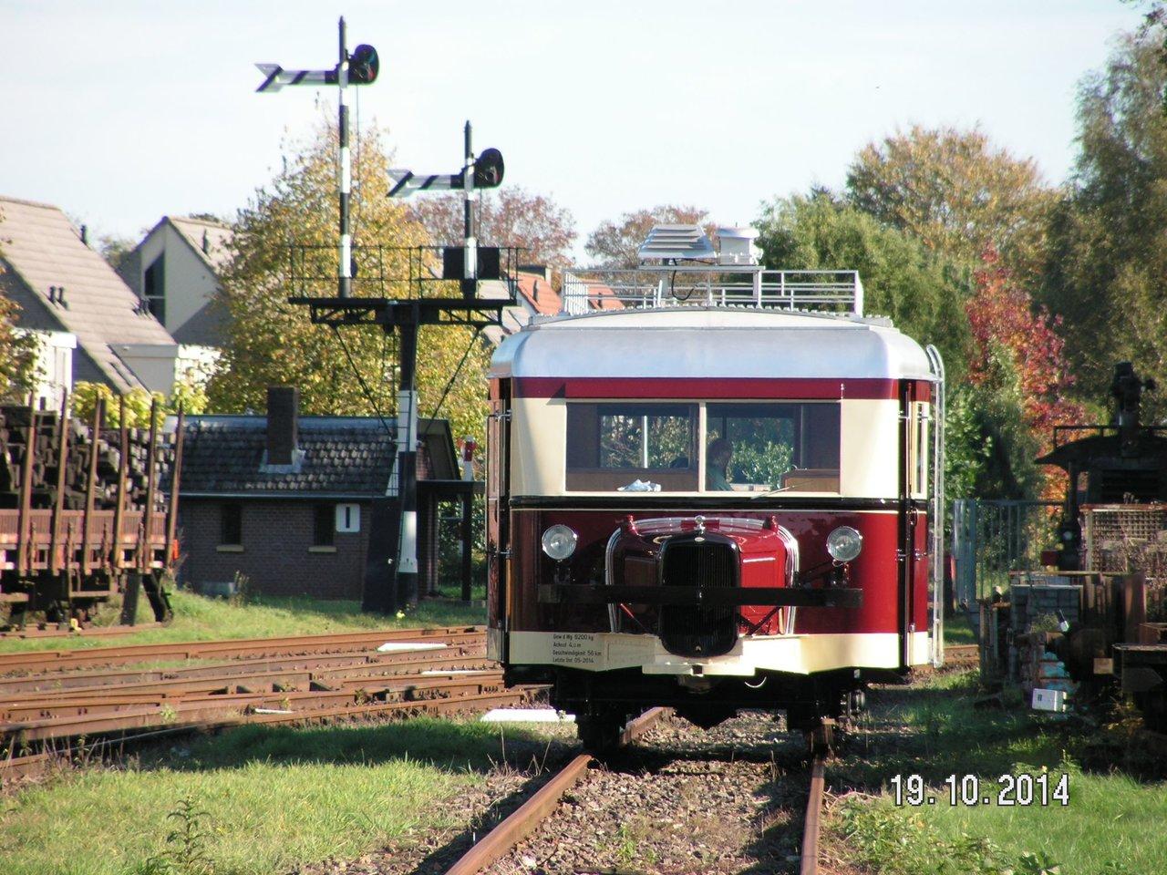 Diorama Bahnhof Asendorf mit T41 in H0e / 1/87 Schmalspur 38115942og