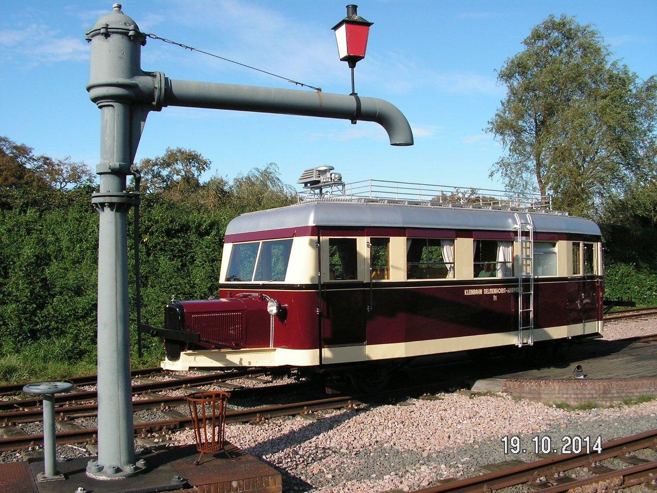 Diorama Bahnhof Asendorf mit T41 in H0e / 1/87 Schmalspur 38115948fh