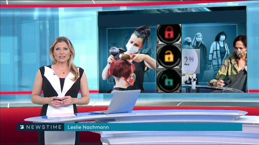 Leslie moderatorin pro7 newstime ProSieben Newstime