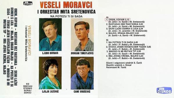 Veseli Moravci - 1988 - Orem, kopam 38749026qr