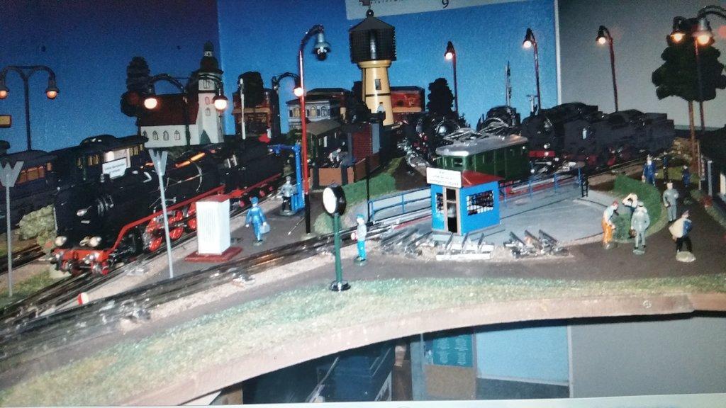 Uhrwerkanlage Märklin Spur 0 38761087ln