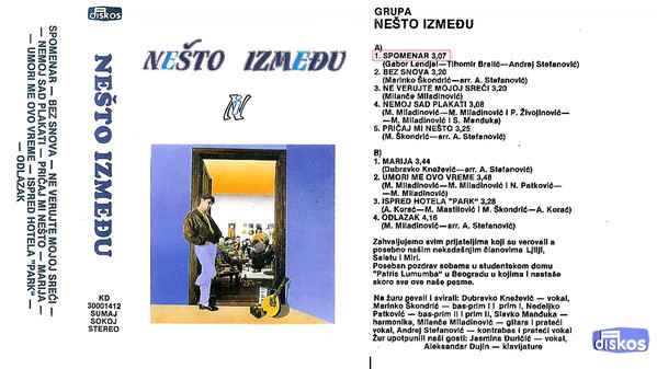 Grupa Nesto Izmedju - 1987 - Spomenar 38977049eg