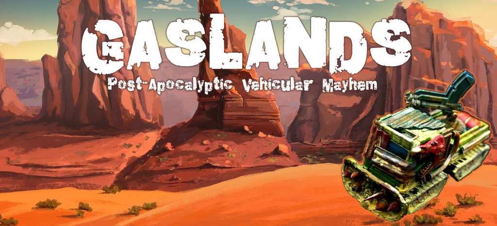 Gaslands: Gaslands - Post-Apocalyptic Vehicular Mayhem