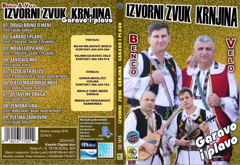 Izvorni Zvuk Krnjina - 2018 - Garavo i Plavo 39200923we