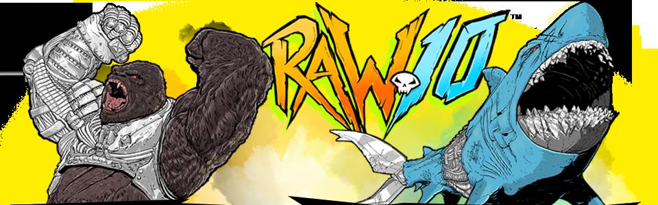 Raw10 Actionfiguren