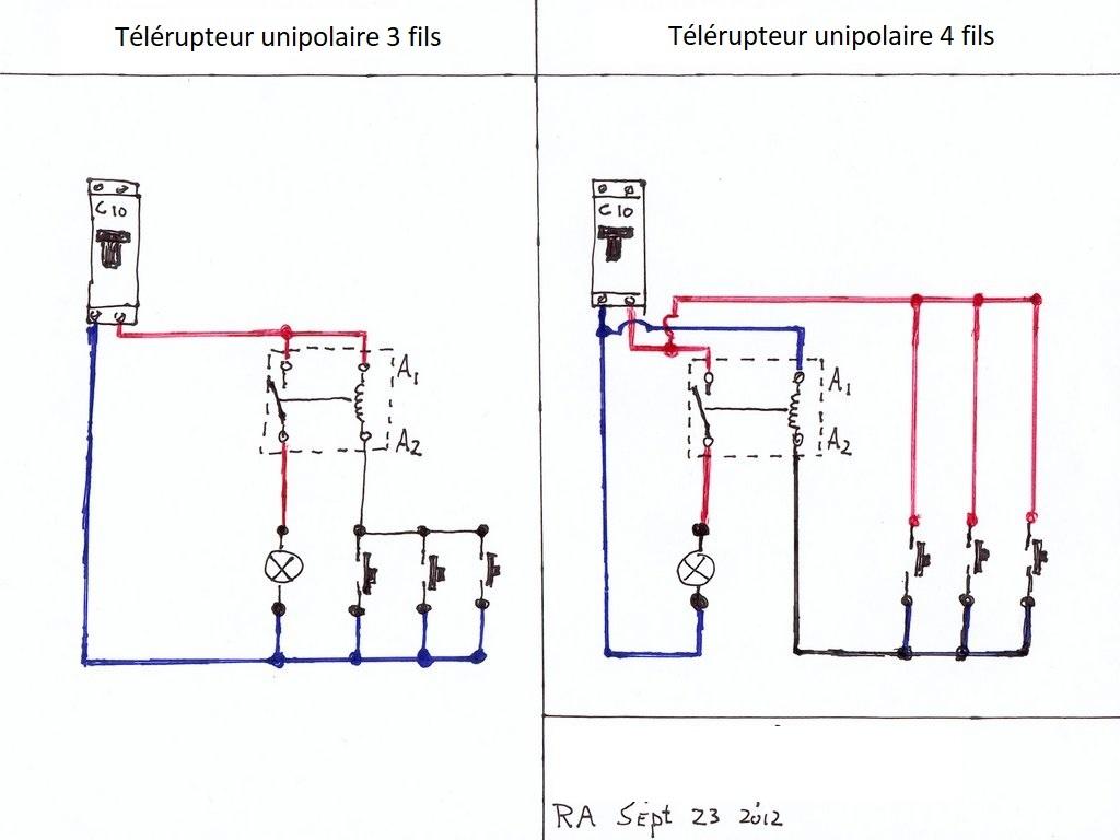 Remplacement Telerupteur Legrand 49167 Forum Electricite Systeme D
