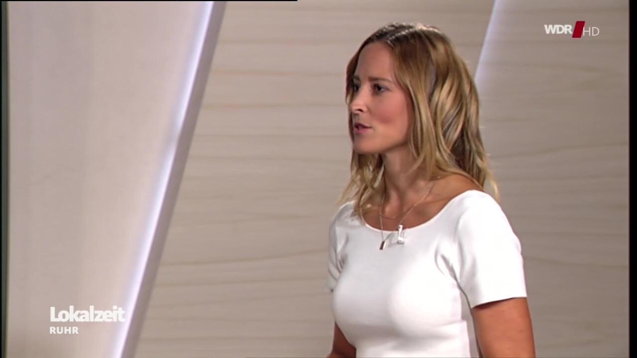 Anna Fleischhauer bei der Lokalzeit Ruhr im WDR am 20.07