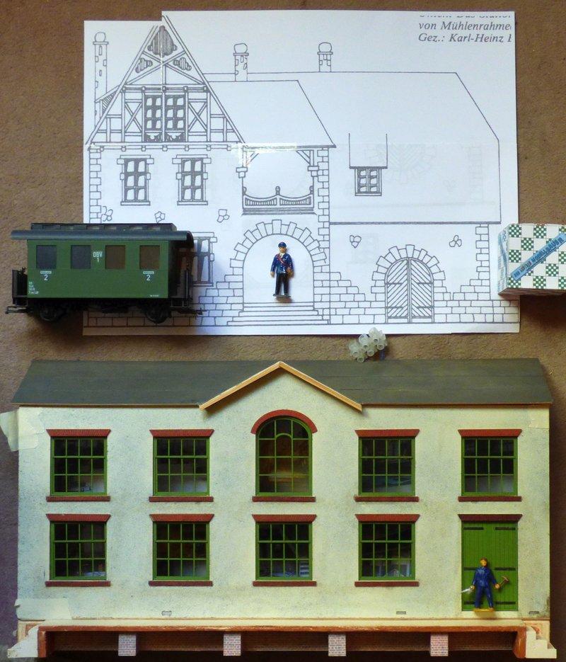 Bahnhof in 1/45 ähnl. Altena Mühlenrahmede - Baubericht in Holz - Seite 2 39741506zh