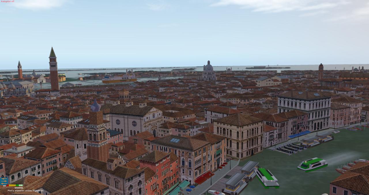 Venedig und Flughafen Nicelli 39996380wa