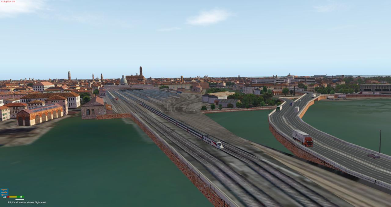 Venedig und Flughafen Nicelli 39996393gr