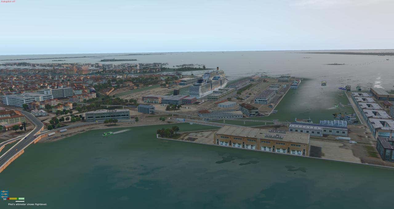 Venedig und Flughafen Nicelli 39996398qn