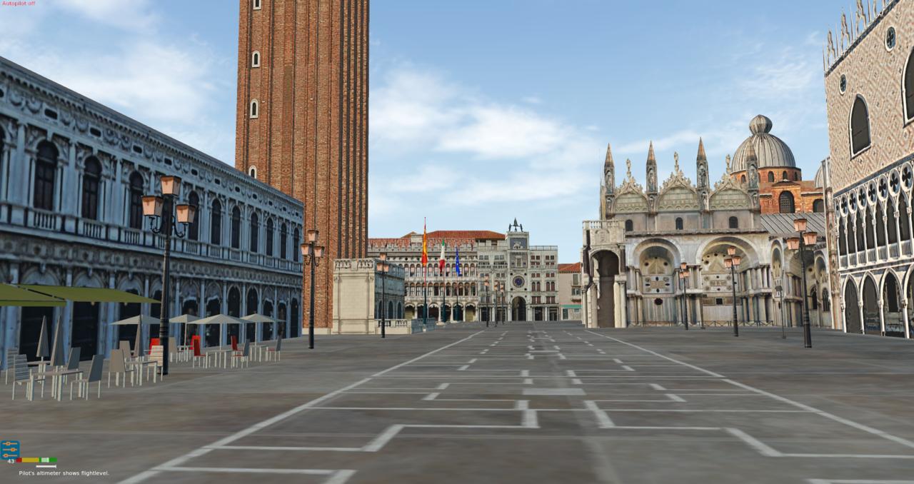 Venedig und Flughafen Nicelli 39996400zu