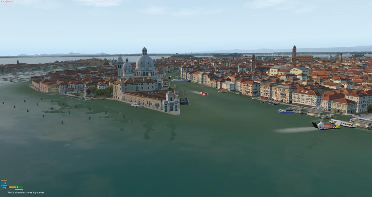 Venedig und Flughafen Nicelli 39996407fx