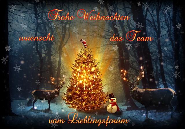 Weihnachtsgrüße vom Lieblingsforum 40124354ez