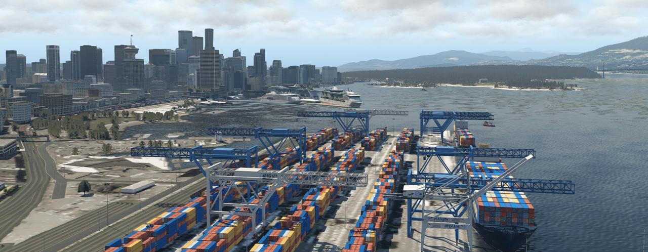 Vancouver City von CFXP 40490678ya
