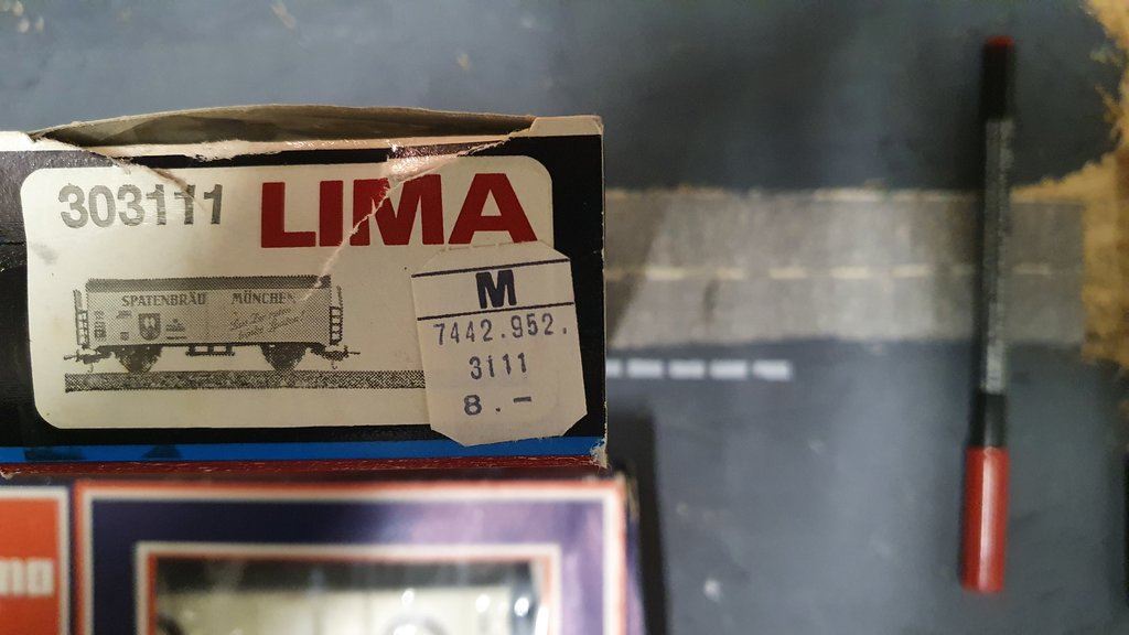 Lima Verpackungen und Preise im Laufe der Zeit 40585734ex
