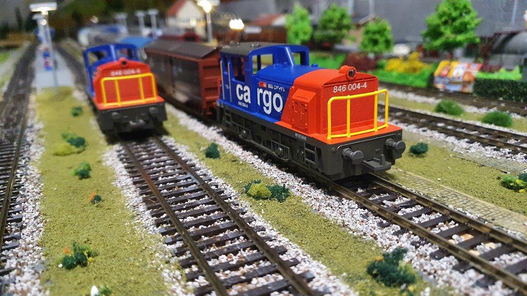 SBB Diesellokomotiven 40601857uh