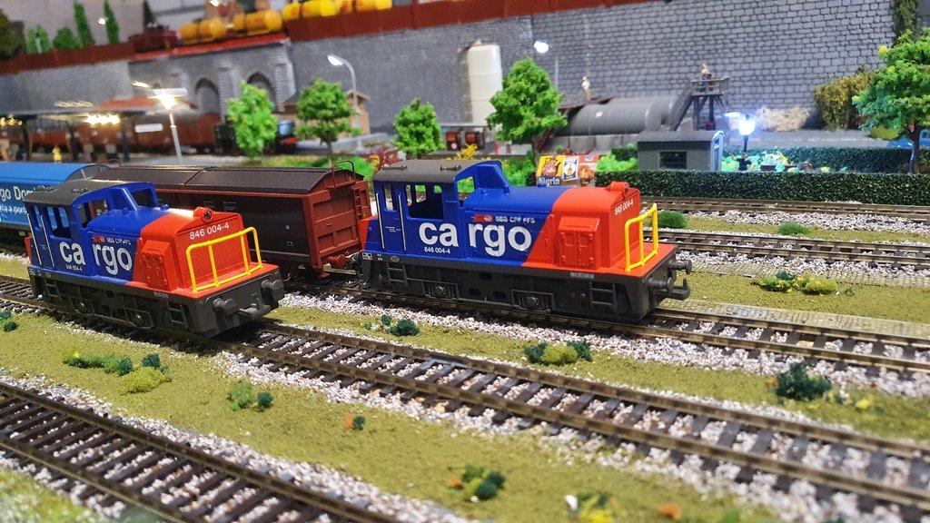 SBB Diesellokomotiven 40601858xd
