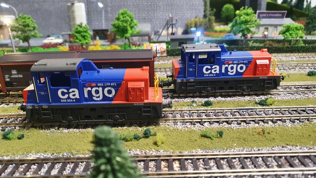 SBB Diesellokomotiven 40601860tu