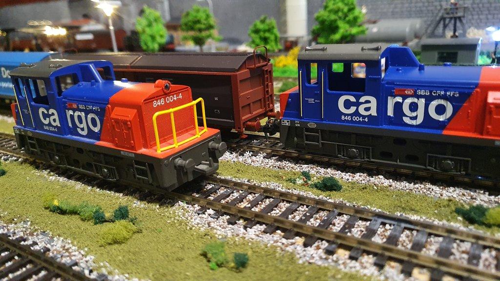 SBB Diesellokomotiven 40601862ig
