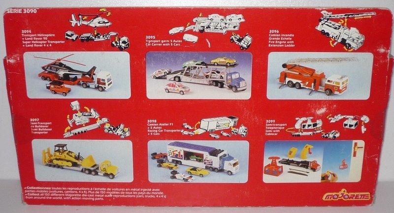 N°3094 Holiday Van + Trailer + Hot Rod 40763768er